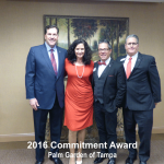 2016 commitment award palm garden of tampa