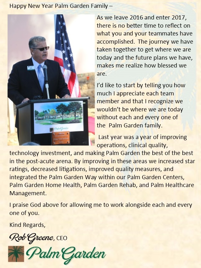 Palm Garden Team Member Appointed To Fhca Committee » Palm Garden