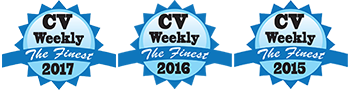 cvweekly awards for 2017-2016-2015