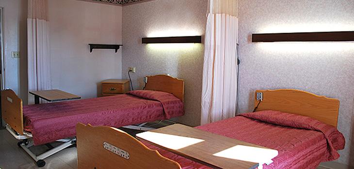 Shawano double occupancy room