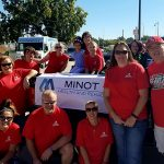 Minot Health and Rehab at the 2016 Minot State University Homecoming Parade.