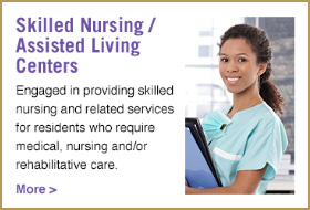 Skilled Nursing and Assisted Living Centers button