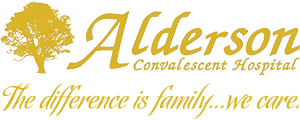 Alderson Convalescent Hospital logo The difference is family…we care.