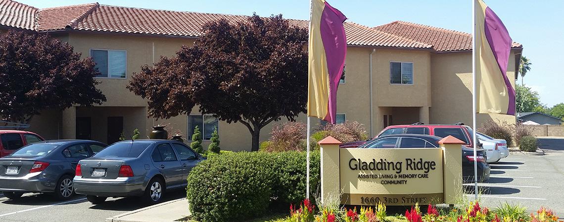Gladding Ridge exterior sign