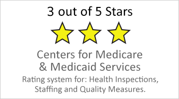 3-star rating for Medicare and Medicaid services