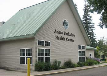 Aneta Parkview Health Center building