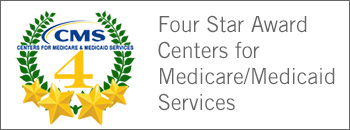 CMS 4-star award button
