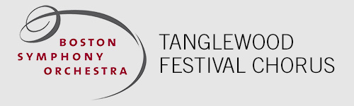 Tanglewood festival chorus button