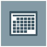 Activity Calendar Icon