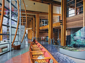 picture from Squamish Lil'Wat Cultural Centre