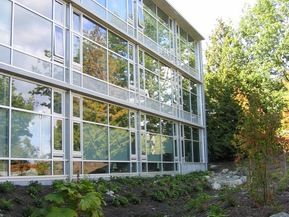 picture from Social Sciences & Mathematics Building, University of Victoria