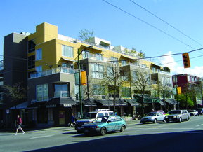 picture from 2211 West Fourth Avenue (Capers multi-use development)