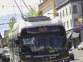 picture from GVTA Main Street Transit and Pedestrian Priority Project