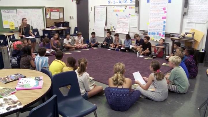 Carly's 4th Grade Class