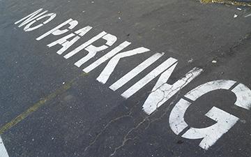 No Parking Zone