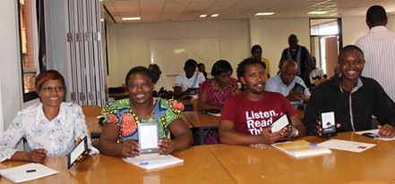E-Readers at Africa University