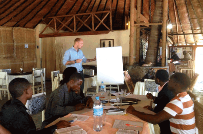 Ready to Go Deeper – Writing Workshops in Tanzania