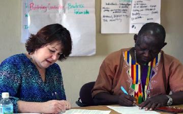 New publishing team begins work in Sierra Leone