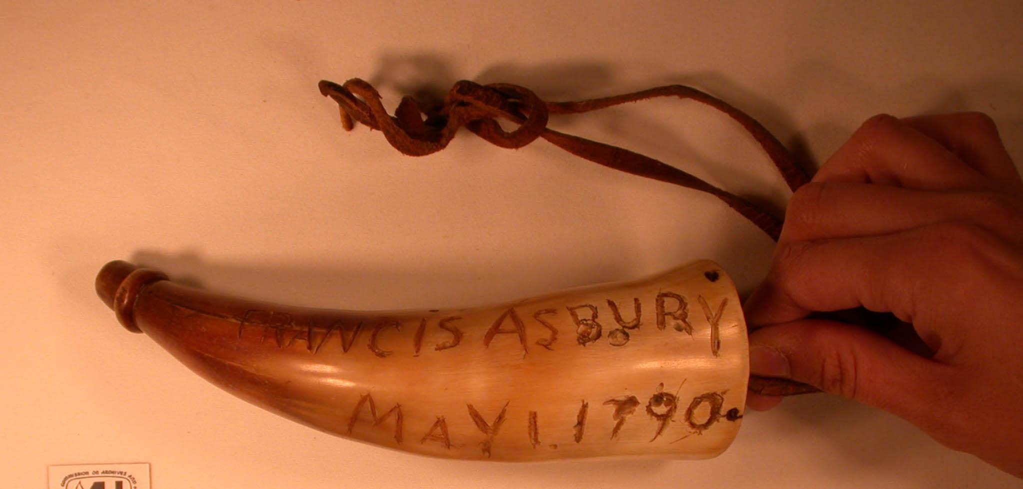 Asbury's powder horn