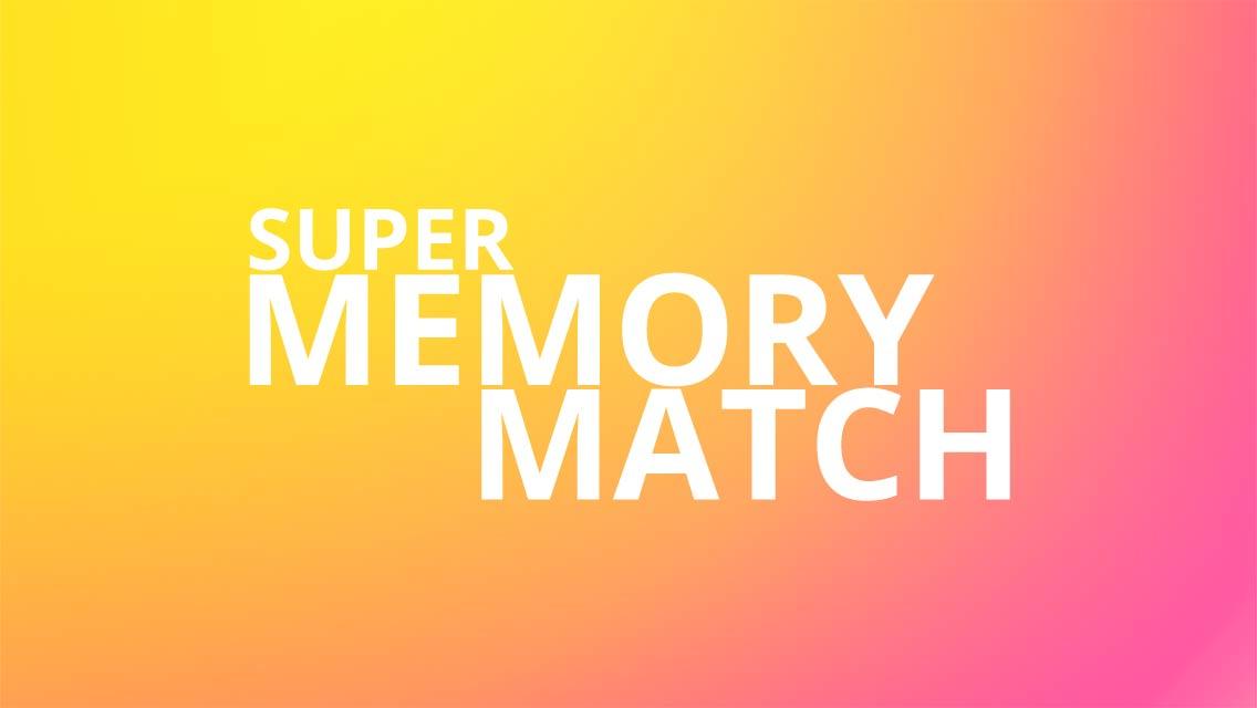 Super Memory Match