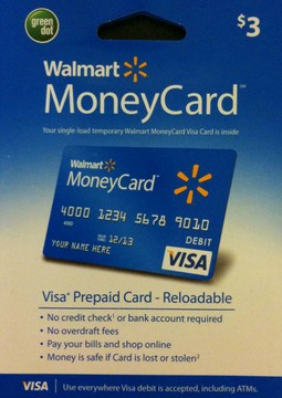Buy walmart where green debit cards prepaid to dot visa