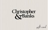 Christopher &amp; Banks Gift Cards