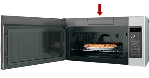 Charcoal Filter Replacement: Microwaves With Grille Behind Door With Filter  Door