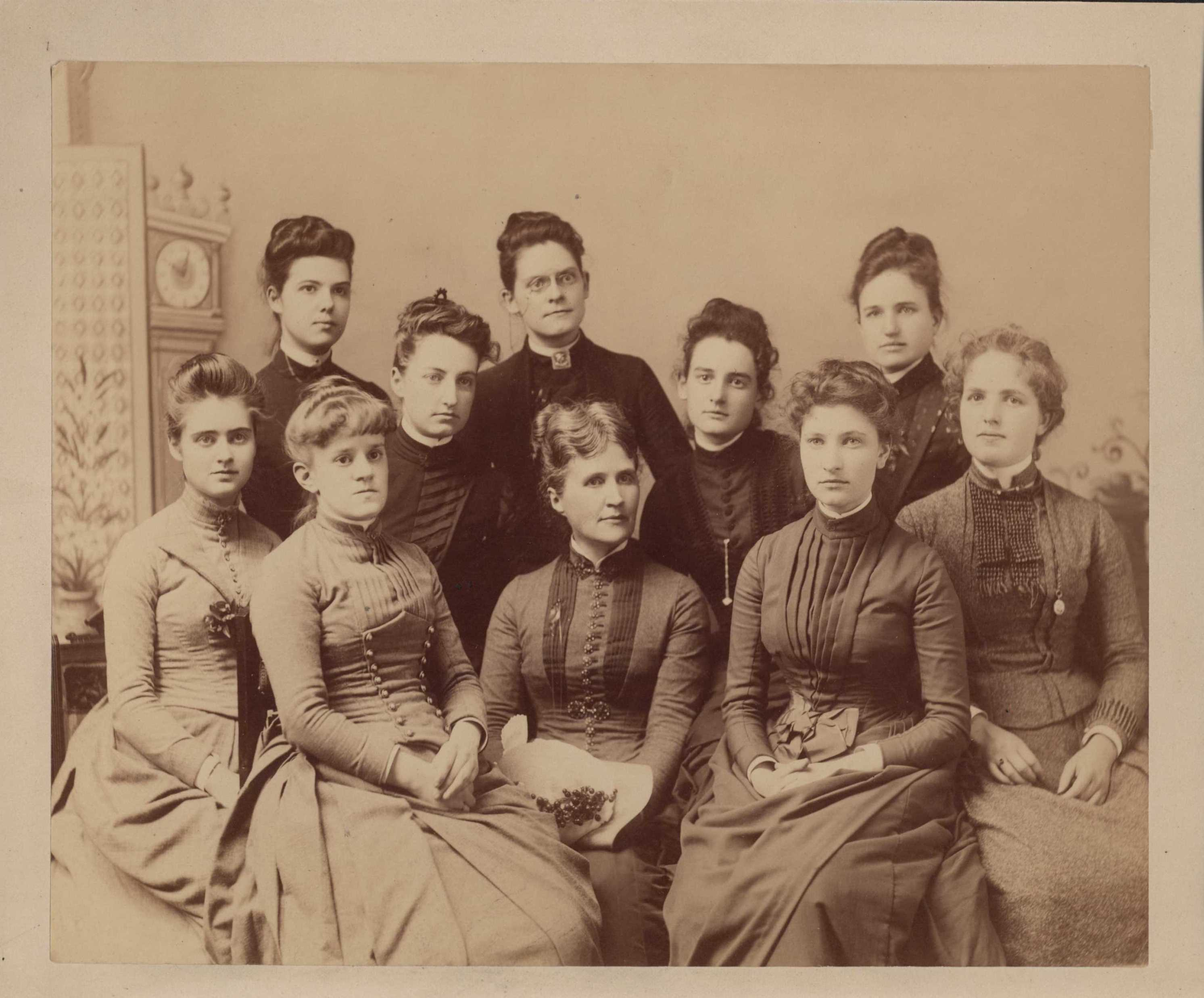 Class Photo of the Class of 1888