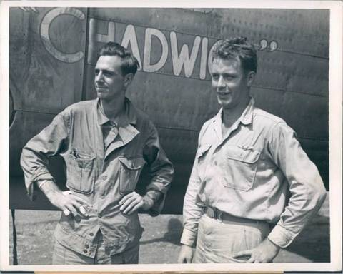 1944 Newsweek Magazie War Reporter Army Pilot Photo