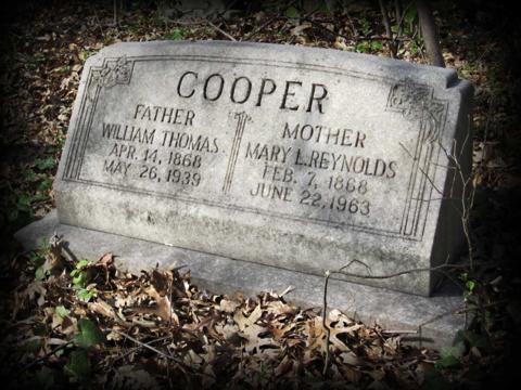 Cooper Headstone