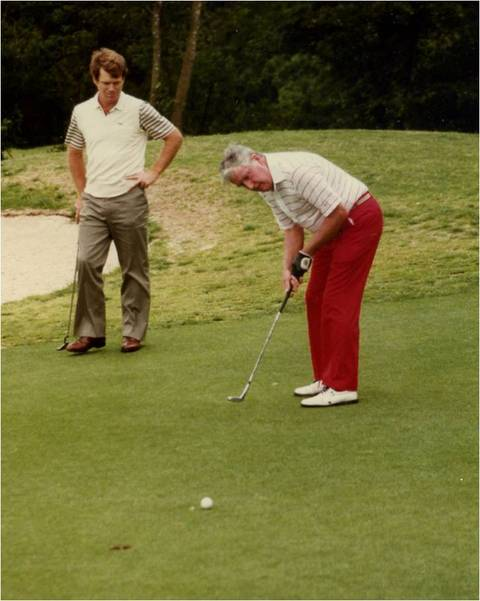 Golf with Tom Watson