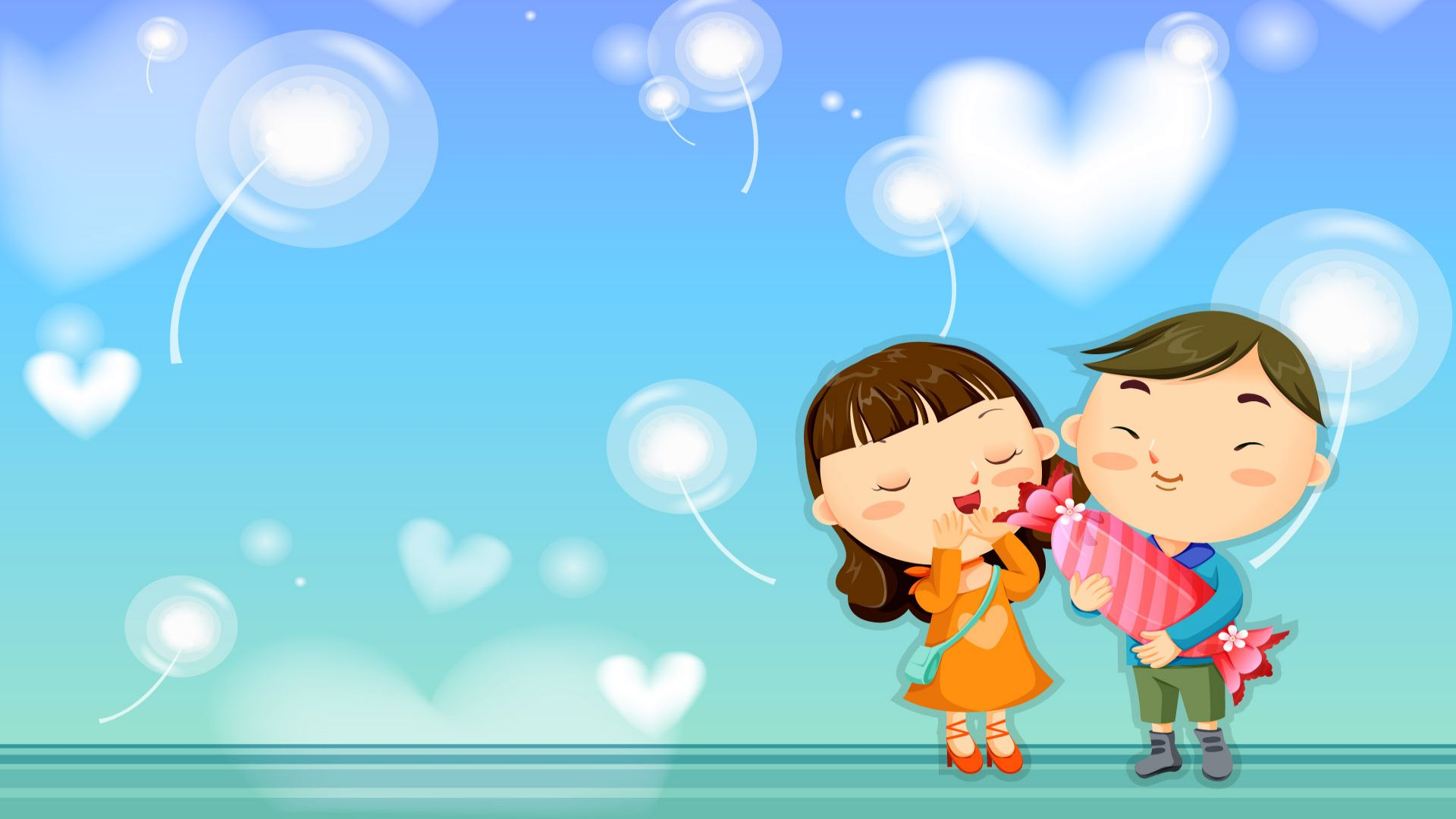 Latest cartoon Love Wallpaper : Karan portfolio: New cartoon characters
