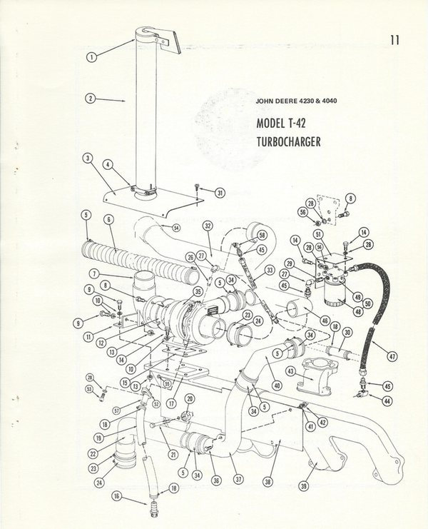 John Deere 4230 T-42 Diagram