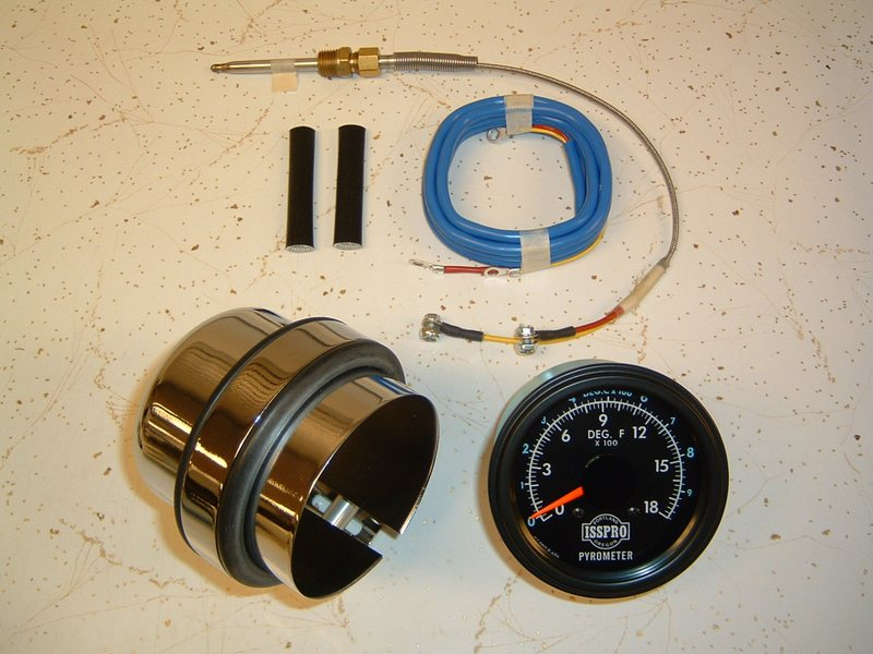 """3"""" Dia. Pyrometer w/ Chrome Mounting Cup"""