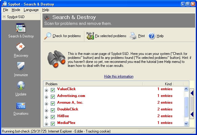 Spybot Search And Destroy Download