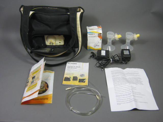 medela pump in style battery pack instructions