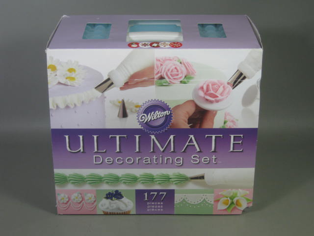 NEW Wilton W0200 Ultimate Cake Decorating Set 177 Pieces ...