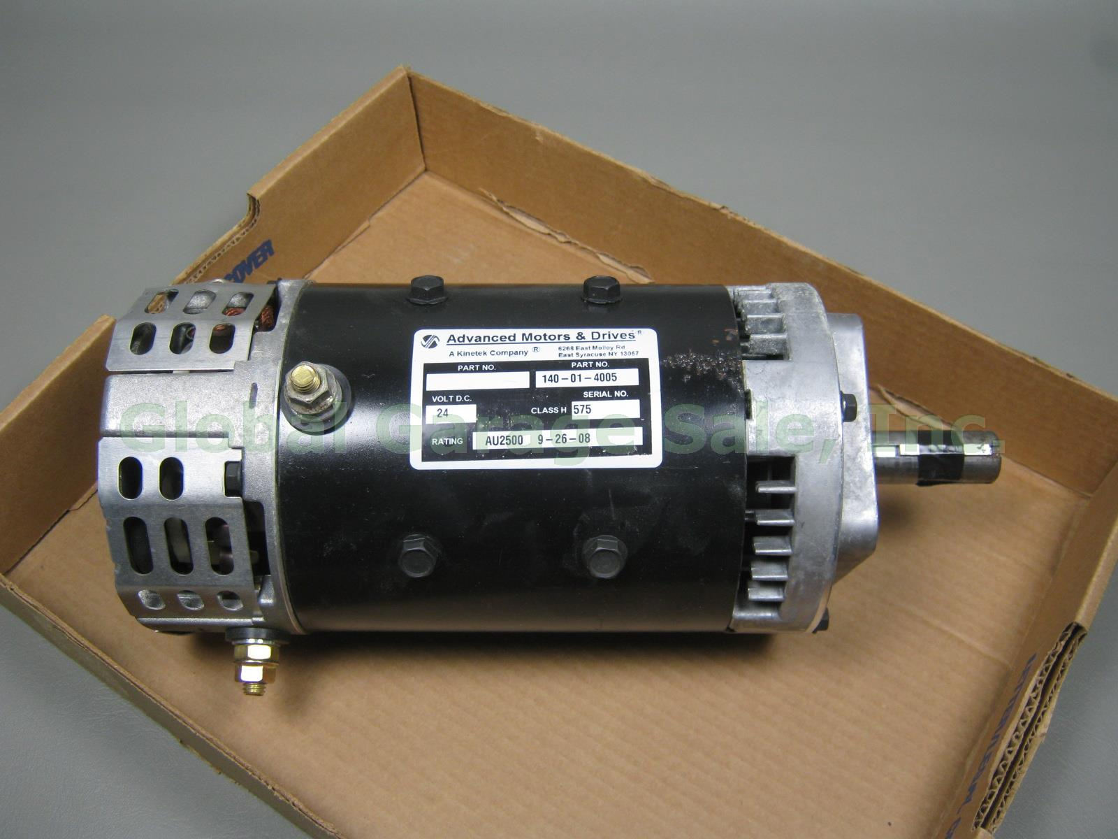 Nos Advance Motor Drives Amd 140 01 4005 24 48 Vdc Single