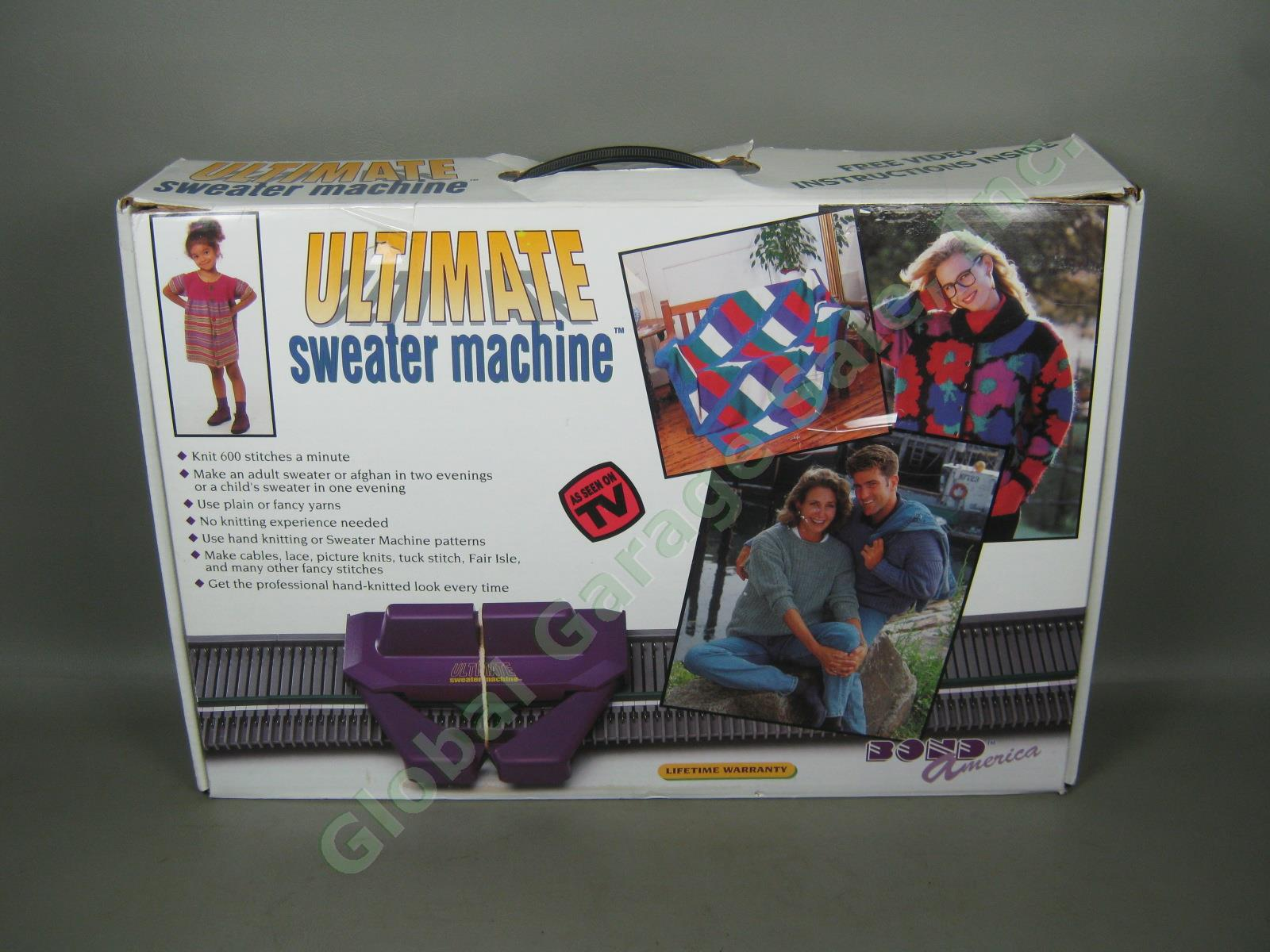 bond america knitting machine