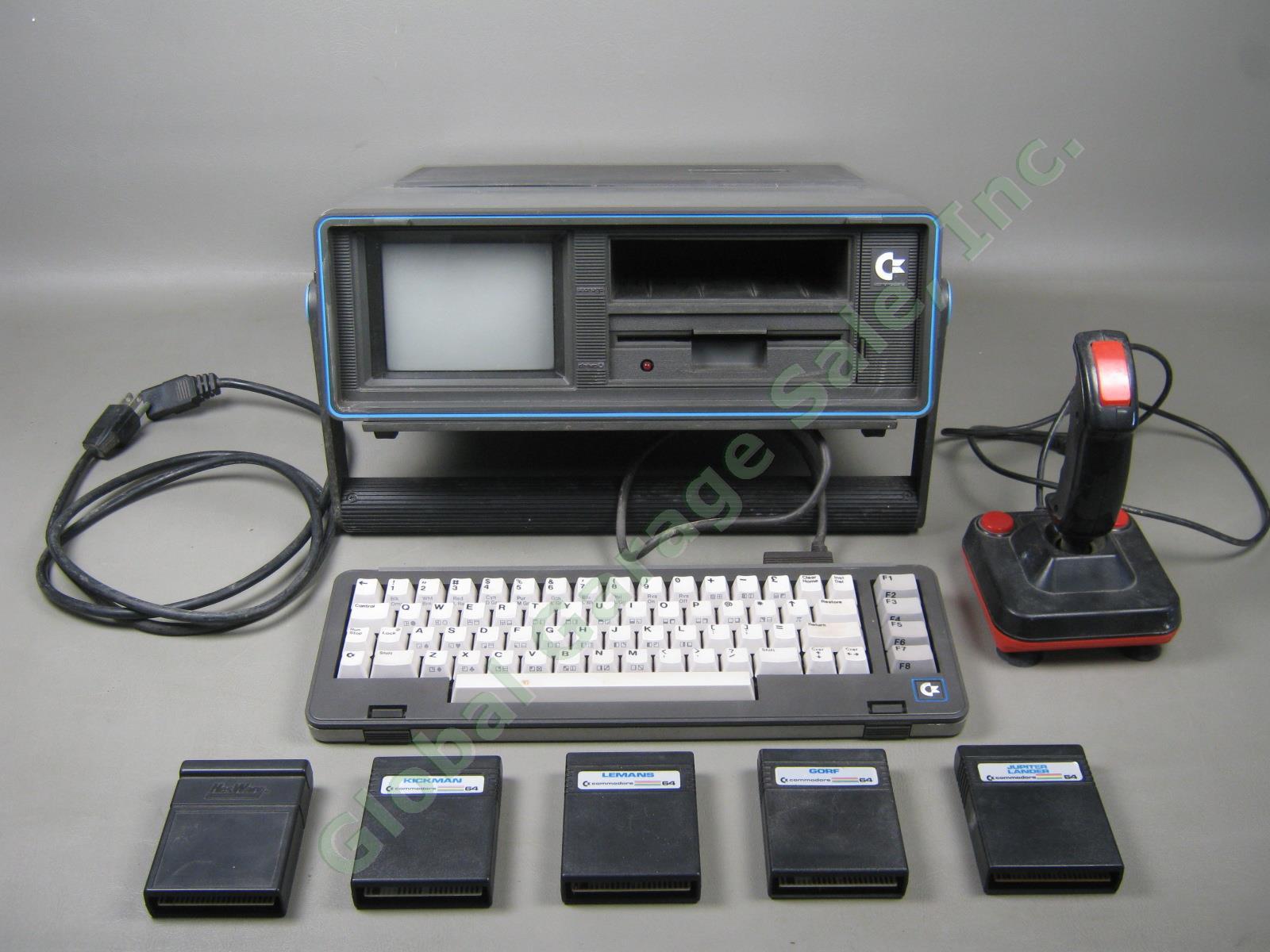 Vtg 1984 Commodore Sx 64 Executive Portable Computer 5