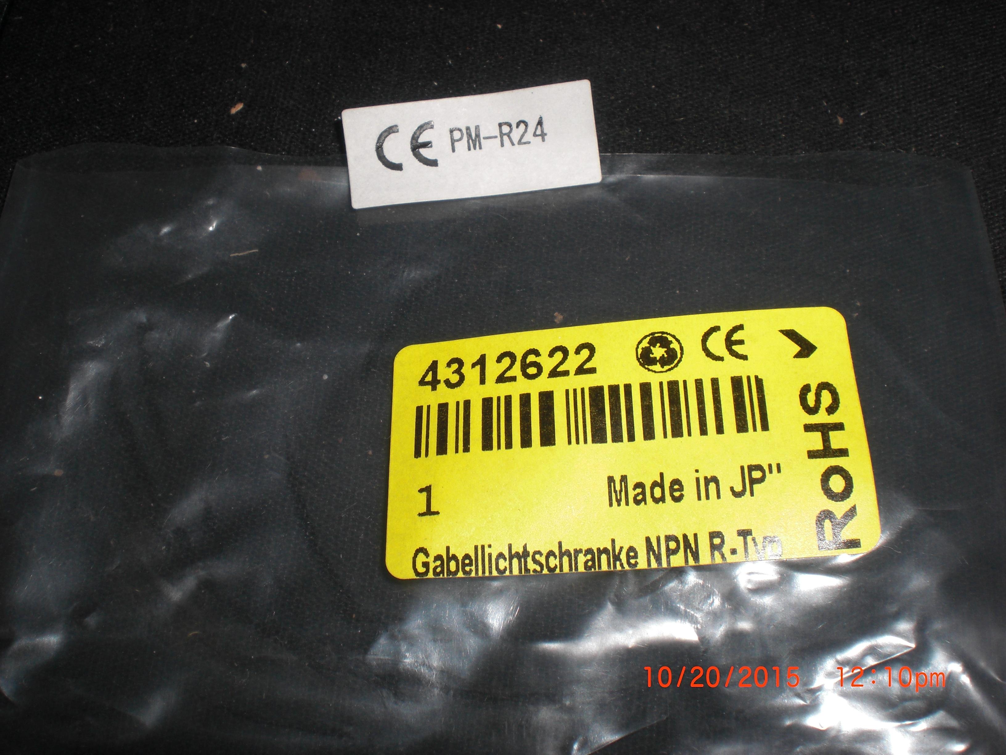 Sensor SUNX PM-R24 Panasonic Photoelectric switch