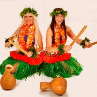 2 Girls in a Nutshell - Hawaiian Entertainment in Tempe, Arizona