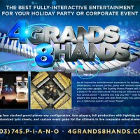 4 Grands / 8 Hands Dueling Pianos - Bands & Groups in Gillette, Wyoming