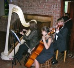 Little Chapel in the Woods, Harp, Violin, Cello