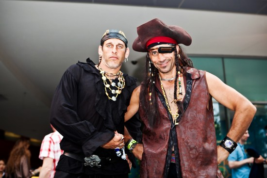 Pirates at the Georgia Aquarium