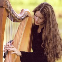 """ Hollienea "" , "" Harpist & Vocalist "" - Harpist in Highland, California"