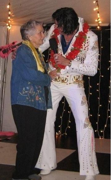 Randy Elvis Walker &amp; Memo during a Concert in Mississippi