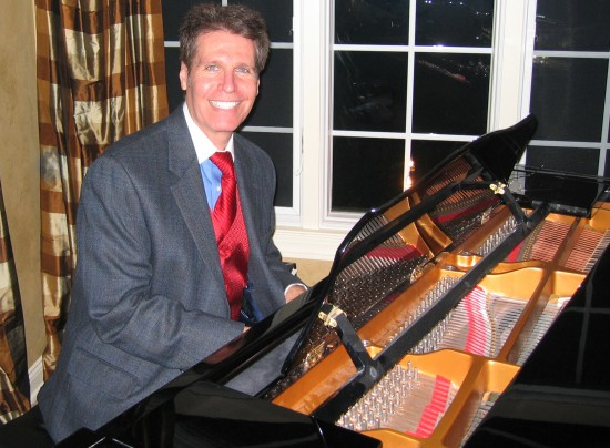 NJ Pianist Arnie Performing at a Holiday Party in Colts Neck, NJ