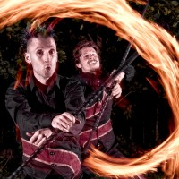 A Different Spin - Fire Eater in Cape Cod, Massachusetts