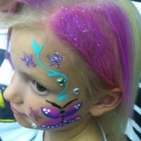 A Hair For Kids Birthday Party Spa Salon - Clown in Kenosha, Wisconsin